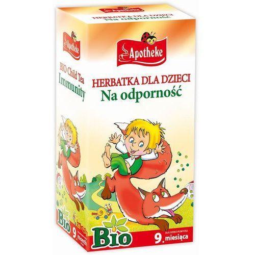 Apotheke bio herbatka dla dzieci na odporno, 20 torebek (8595178201714)