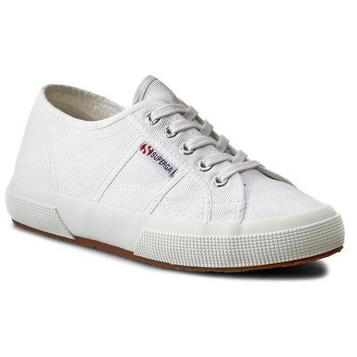 Tenisówki - 2750 plus cotu s003j70 white 901 marki Superga