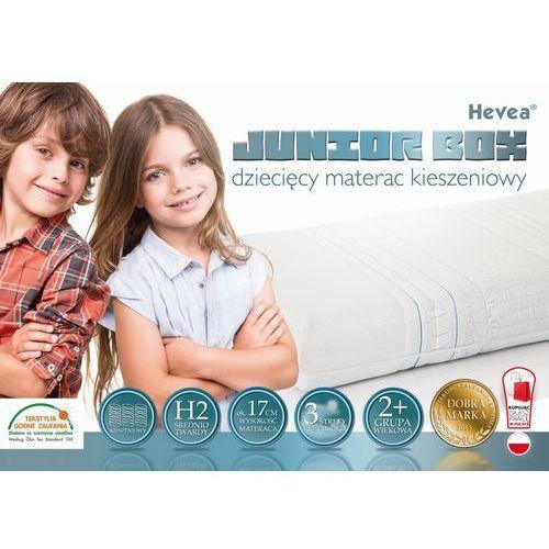 Hevea Materac kieszeniowy junior box 160x80