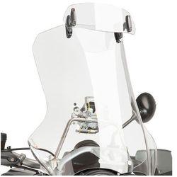 Regulowany deflektor PUIG do szyb i owiewek 23x9 cm (clip-on, przezroczysty)
