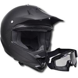 vidaXL Kask do motocross (M) , bez szybki + gogle Darmowa wysyłka i zwroty
