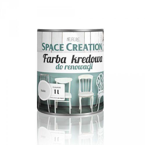 Farba kredowa do renowacji mebli - biała 1 litr (5906874753545)