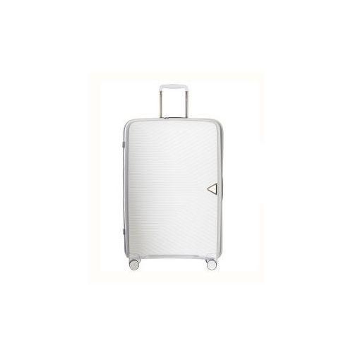 87a454b8a27ef walizka duża twarda z kolekcji denver pp014 4 koła zamek szyfrowy tsa  materiał polipropylen marki Puccini