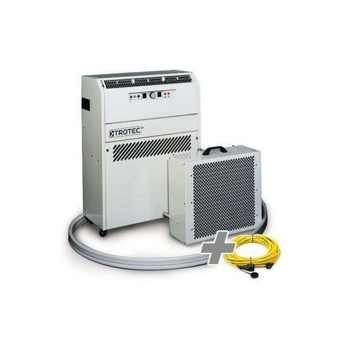 Klimatyzator portatemp 4500 w + przedłużacz profi 20 m / 230 v / 2,5 mm² marki Trotec