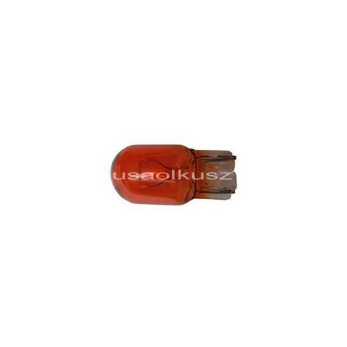 Żarówka pomarańczowa całoszklana jednowłóknowa W21 W3x16d WY21W amber