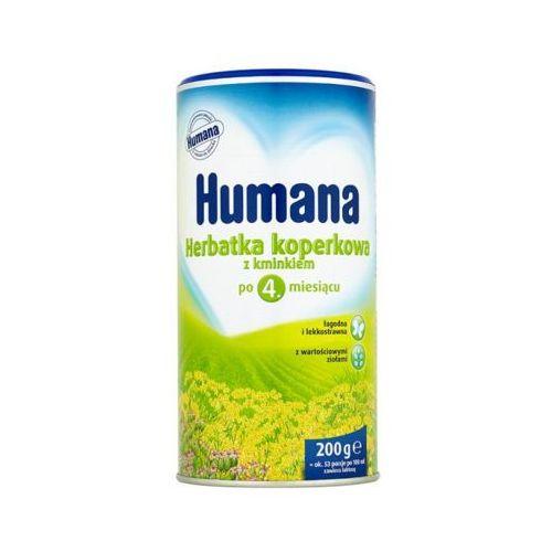 200g herbatka koperkowa z kminkiem po 4 miesiącu marki Humana