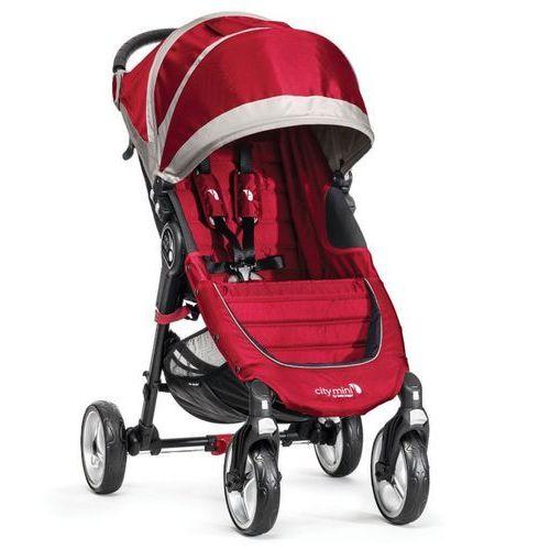 Baby jogger Wózek city mini single 4w crimson/gray + darmowy transport! (0745146104365)