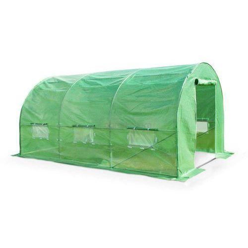 Garden point Zielony tunel foliowy 2x4m metalowy stelaż - transport gratis!