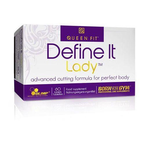 Olimp Spalacz tłuszczu dla kobiet define it lady 60tabs (5901330046049)