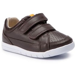 356812c23f93 Sneakersy CLARKS - Emery Walk T 261411576 Brown Leather