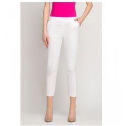 3ac3c31a4d42a5 Spodnie kosmetyczne cygaretki białe marki Vena