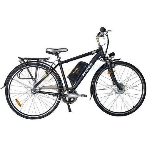 """Rower elektryczny prime 28"""" (czarny) marki Interbike"""