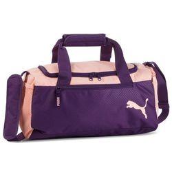 3ce4dd3699020 Torba PUMA - Fundamentals Sports Bag Xs 075526 07 Indigo/Peach Bud