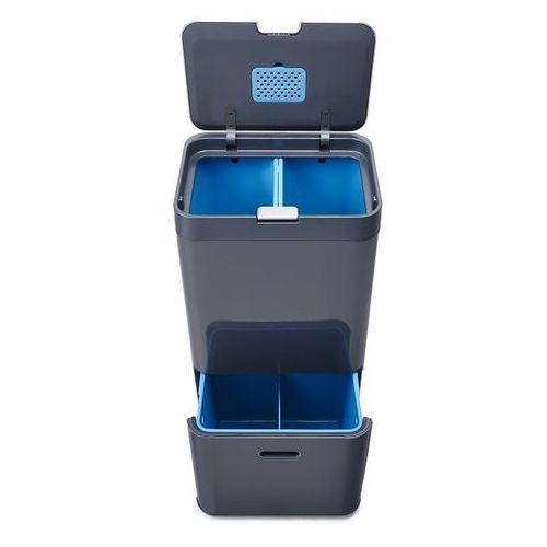 Joseph joseph Kosz na śmieci totem intelligent waste 58l grafitowo-niebieski zamów przez telefon 514 003 430 (5028420300253)