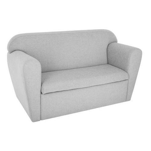 Sofa dwuosobowa ze schowkiem na zabawki - kolor szary 80 x 35 x 45 cm marki Atmosphera créateur d'intérieur