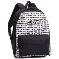 d77c6ef9115b8 Plecak VANS - Realm Backpack VN0A3UI6UVP1 Black/Vans Love