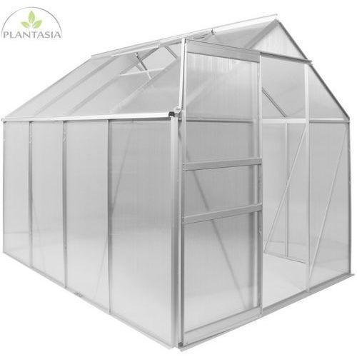 Plantasia ® Szklarnia aluminiowa na pomidory 250x190x195cm 4mm