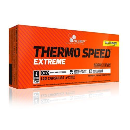 thermo speed extreme mega caps - 120 kaps. marki Olimp