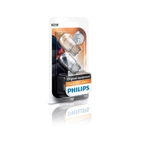 Zestaw 2x żarówka samochodowa vision 12065b2 w21w w3x16d/21w/12v marki Philips