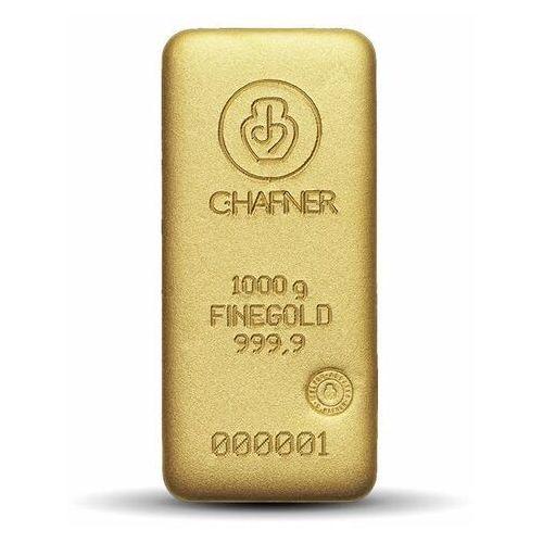 1000 g (1 kg) sztabka złota - 15dni marki Argor-heraeus, pamp