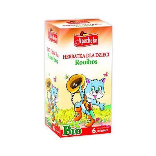 Apotheke Herbata dla dzieci rooibos bio, ekspresowa 30g (8595178200793)