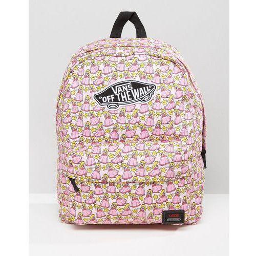 c81bab3d2c34d Vans Nintendo Princess Peach Backpack - Multi Cena od0,00 zł
