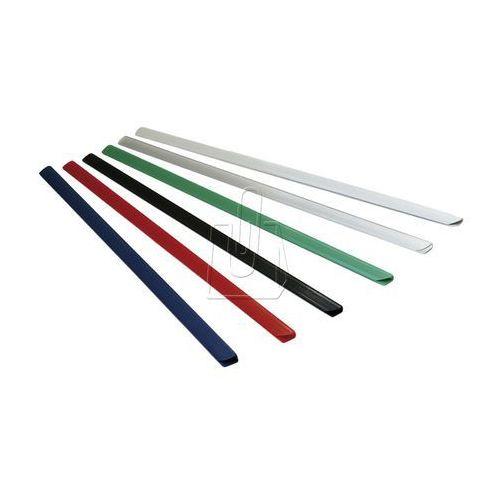 Listwy (grzbiety) wsuwane standard 4mm 50 szt. czarne