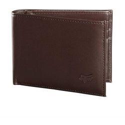 Portfel - bifold leather wallet brn (081) rozmiar: os marki Fox