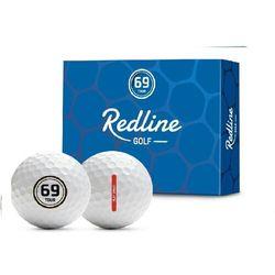 Piłki golfowe redline 69 tour (białe) marki Redline golf