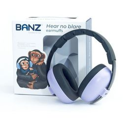 Słuchawki ochronne nauszniki dzieci 0-3lat BANZ - Orchid