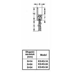 Listwa progowa STRIBO H3-34 1 mb