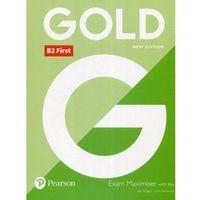 Książki do nauki języka, Gold B2 First Exam Maximiser with key - Burgess Saly, Newbrook Jacky (opr. miękka)