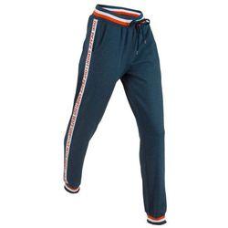 Spodnie dresowe, długie, Level 1 bonprix ciemnoniebieski melanż
