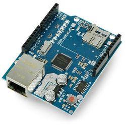 Ethernet Shield W5100 dla Arduino + czytnik kart microSD - Okystar OKY2101