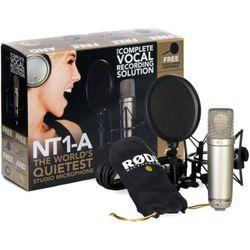 Rode NT1-A Kit studyjny mikrofon pojemnościowy z akcesoriami Płacąc przelewem przesyłka gratis!