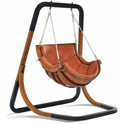Fotel wiszący bujany terracotta - Pasos 2X