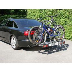 Bagażnik na rowery platforma na hak EUFAB JAMES na 2+1 rowery