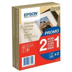 Epson C13S042167 Premium Glossy Photo Paper, 2 w cenie 1, 10x15, 255 g/m2, 2 x 40 arkuszy