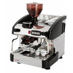 Ekspres do kawy 1-grupowy z młynkiem | czarny | 6L | 3300W | 500x600x(H)690mm