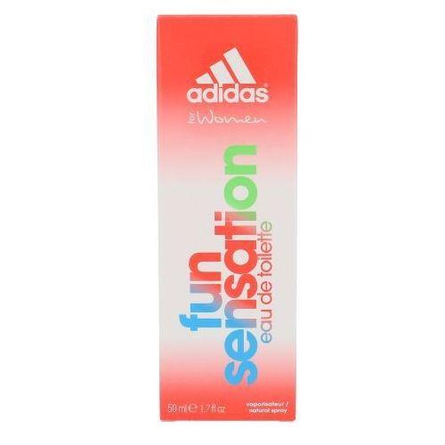 Wody toaletowe damskie, Adidas Fun Sensation 50ml W Woda toaletowa