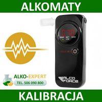 Alkomaty, Alco Force AF400 serwis alkomatu