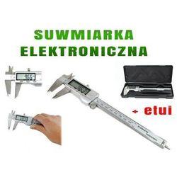 Suwmiarka Metalowa Elektroniczna z LCD + Etui.