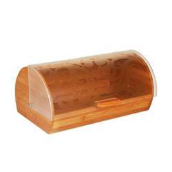 Drewniany chlebak z oryginalną pokrywą / Gwarancja 24m / NAJTAŃSZA WYSYŁKA!