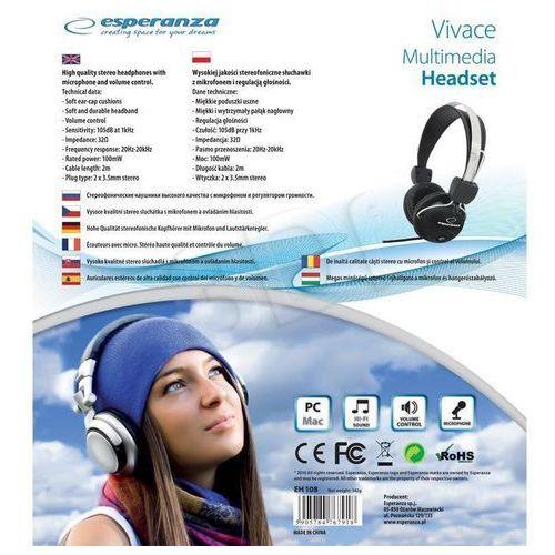 Słuchawki, Esperanza EH108