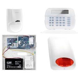 Zestaw alarmowy DSC 1x Czujnik ruchu Manipulator LCD Powiadomienie, Sterowanie, Konfiguracja LAN
