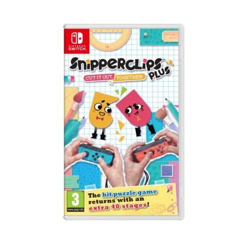 Gry Nintendo Switch, Gra Nintendo Switch Snipperclips Plus: Cut it out, together!