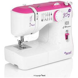Maszyna do szycia TEXI Joy 13 Pink - idealna na początek + igły + stopki