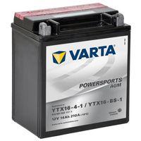 Akumulatory do motocykli, Varta Akumulator AGM 12 V 14 Ah YTX16-4-1 / YTX16-BS-1 Darmowa wysyłka i zwroty