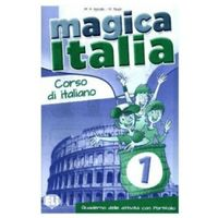 Książki do nauki języka, Magica Italia 1 Quaderno delle attivita con Portfolio (opr. miękka)