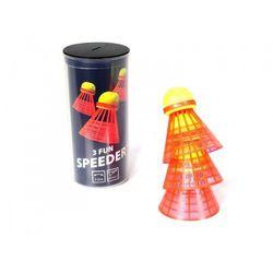 Lotki do Speed badmintona Speedminton Fun 3 szt